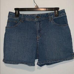 St. John's Bay • Women's Denim Shorts • Size 10